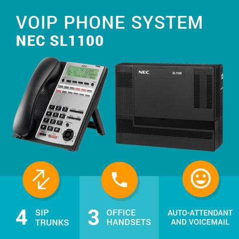 VoIP Business Phone System - NEC SL1100