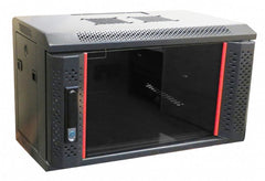 "Coms in a Box 19"" x 6RU x 450mm deep server cabinet"