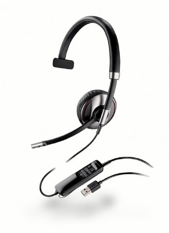 Plantronics Blackwire C710-M/Lync Monaural USB PC Headset with Bluetooth, Sensor Tech and Case