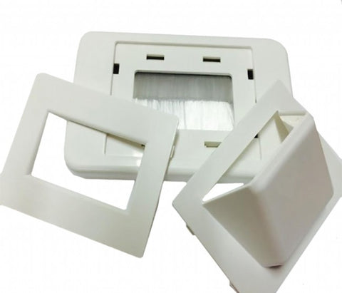 Universal Bull Nose Wall Plate