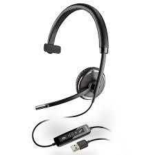 Plantronics Blackwire C510 Wideband Monaural USB Headset