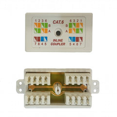 Inline Coupler Cat6 Data Cable Joiner