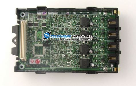 Panasonic TDA30 DLC4 4-Port Digital Extension Card (KX-TDA3171) - Used