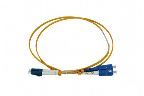 LC-SC OS2 DX 10m Single Mode Fibre Patch Lead