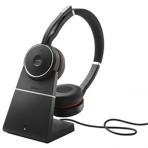 Jabra Evolve 75 Stereo MS + charging stand
