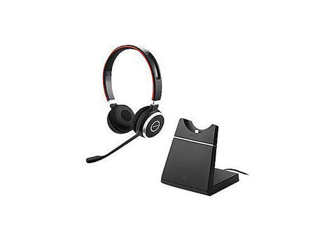 Jabra Evolve 65 UC Stereo + Charging stand
