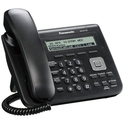 Panasonic KX-UT123 SIP Phone (Black) - Refurbished