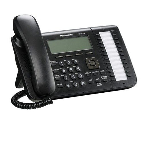 Panasonic KX-UT136 SIP Phone (Black) - Refurbished