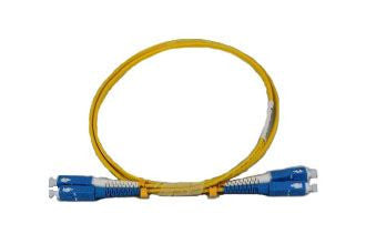 SC-SC OS2 DX 10m Single Mode Fibre Patch Lead