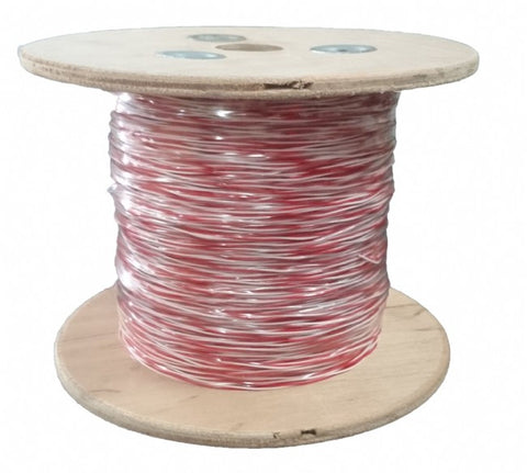 Amdex Jumper Wire 250M Roll (Red/White)