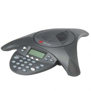 Polycom SoundStation2 (analog) conference phone with display. Not Expandable