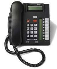 COMMANDER NORTEL T7208 PHONE. CHARCOAL - REFURBISHED