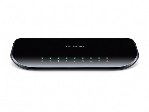 TP-Link 8 Port Gigabit Desktop Switch - TL-SG1008D