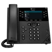 POLYCOM VVX 450 12-LINE DESKTOP BUSINESS IP PHONE