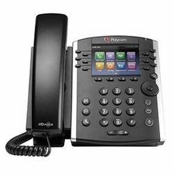 Polycom VVX 400 12-line Desktop Phone with HD. Does not include power pack
