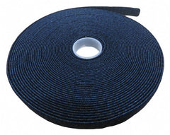 12mm x 10m roll double sided hook and loop grip tie (black)