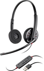 Plantronics Blackwire C320-M Stereo USB PC Headset With Microsoft Lync