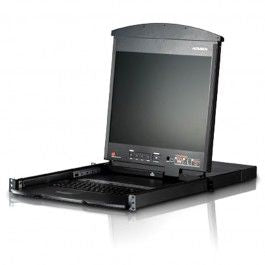 "Aten Altusen 19"" LCD KVM Switch"
