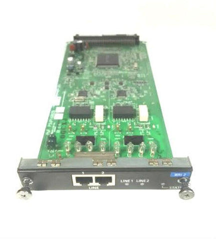 Panasonic NCP500/1000 KX-NCP1280 BRI-2 2 Port Basic Rate ISDN Line Card - Used