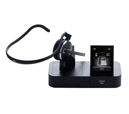 Jabra PRO 9470 Wireless DECT Mono Mobile, Desk and Softphone Headset
