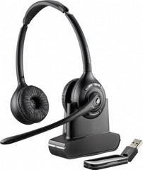 Plantronics Savi W420-M/Lync Binaural Wireless DECT with USB Dongle