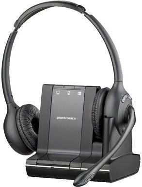 Plantronics Savi W720 Binaural DECT Headset with G616 Limiting