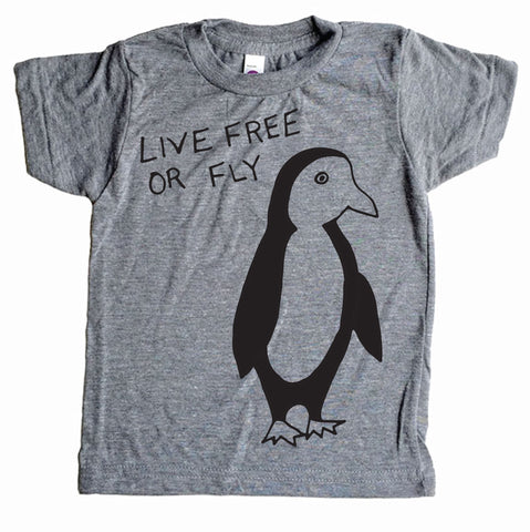 Live Free or Fly Shirt Grey