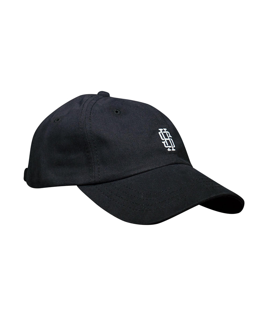 Monogram Dad Hat (Black)