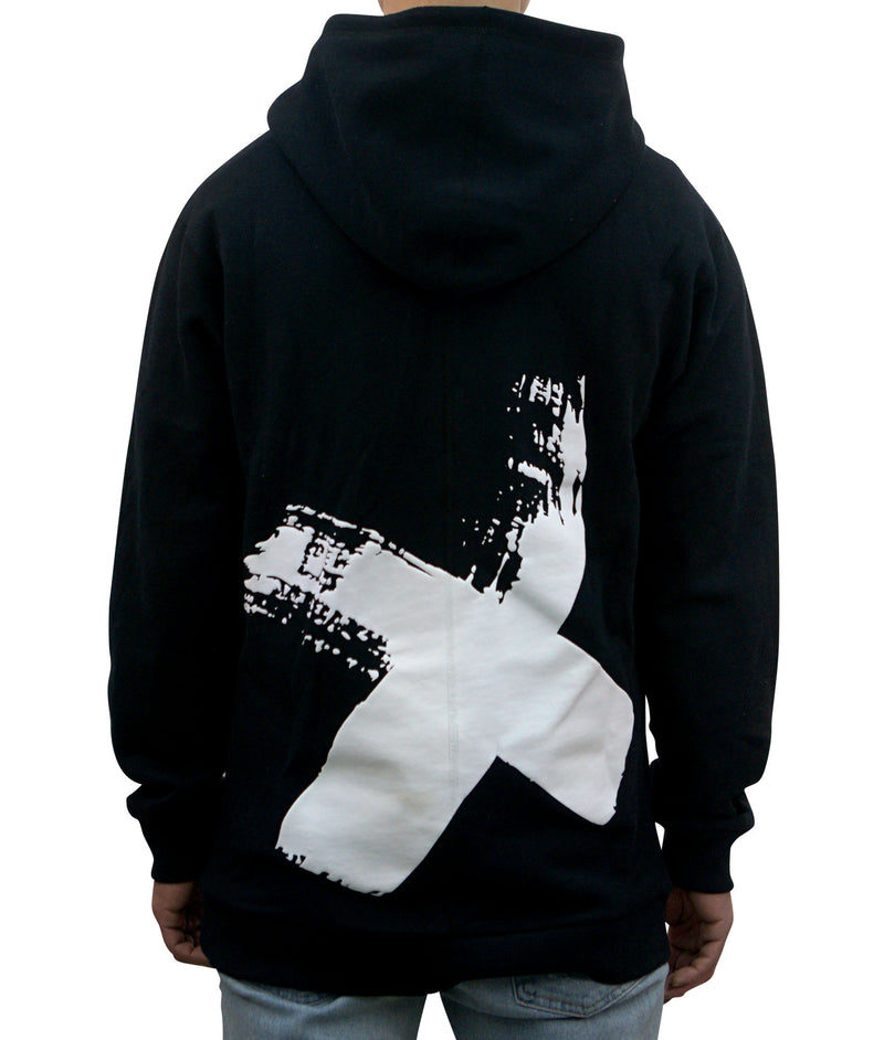 1.X Hooded Pullover - Black