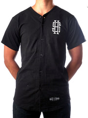 08 Baseball Jersey (in Black)
