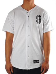08 Baseball Jersey (in White)
