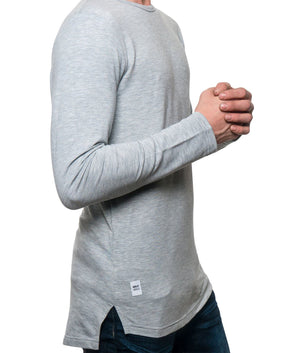 SE1 Heather Grey Long Sleeve