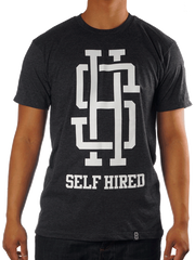 Monogram T-Shirt (in Charcoal Heather)