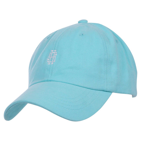 Monogram Dad Hat (Diamond Blue)