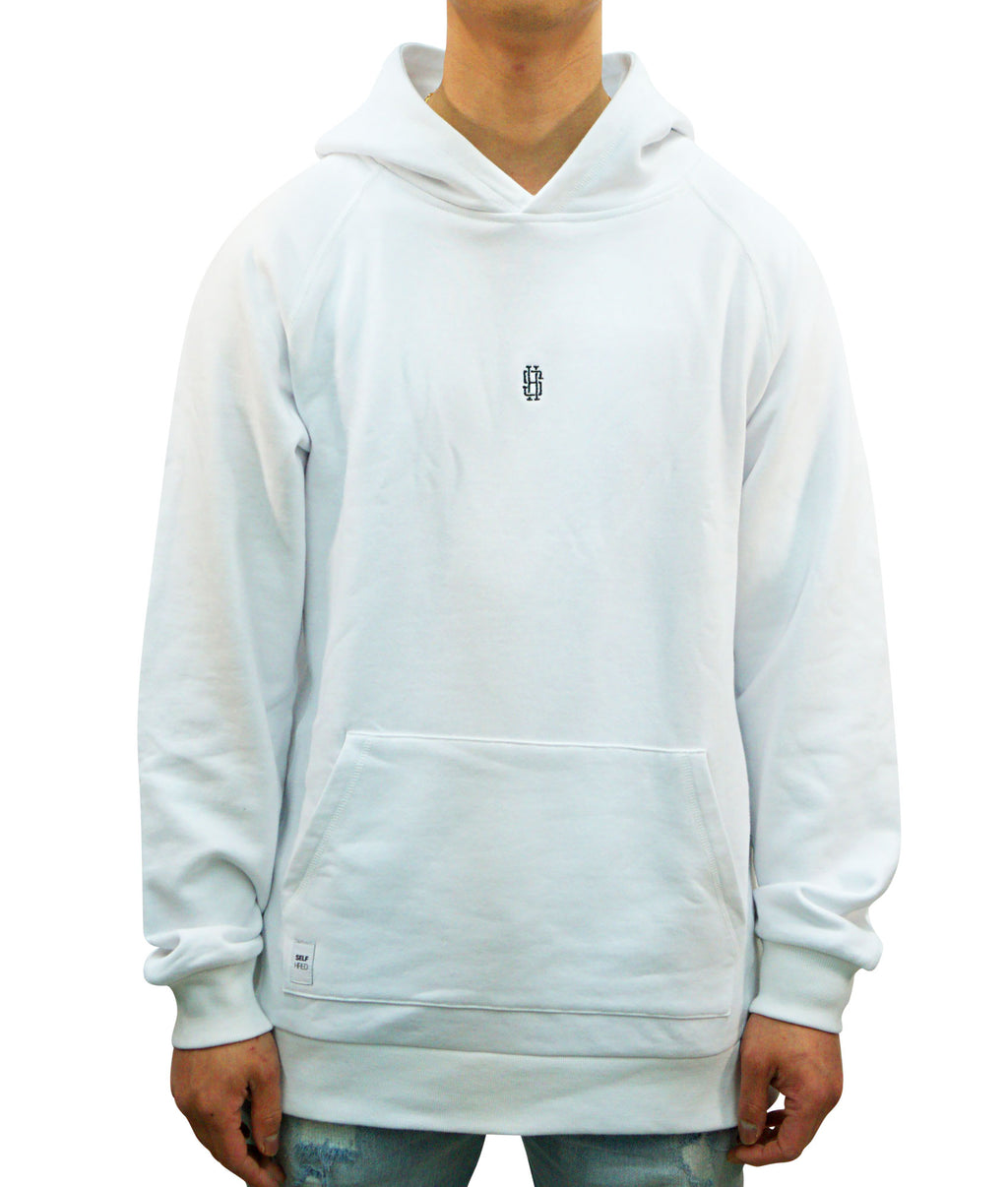 1.X Hooded Pullover - White