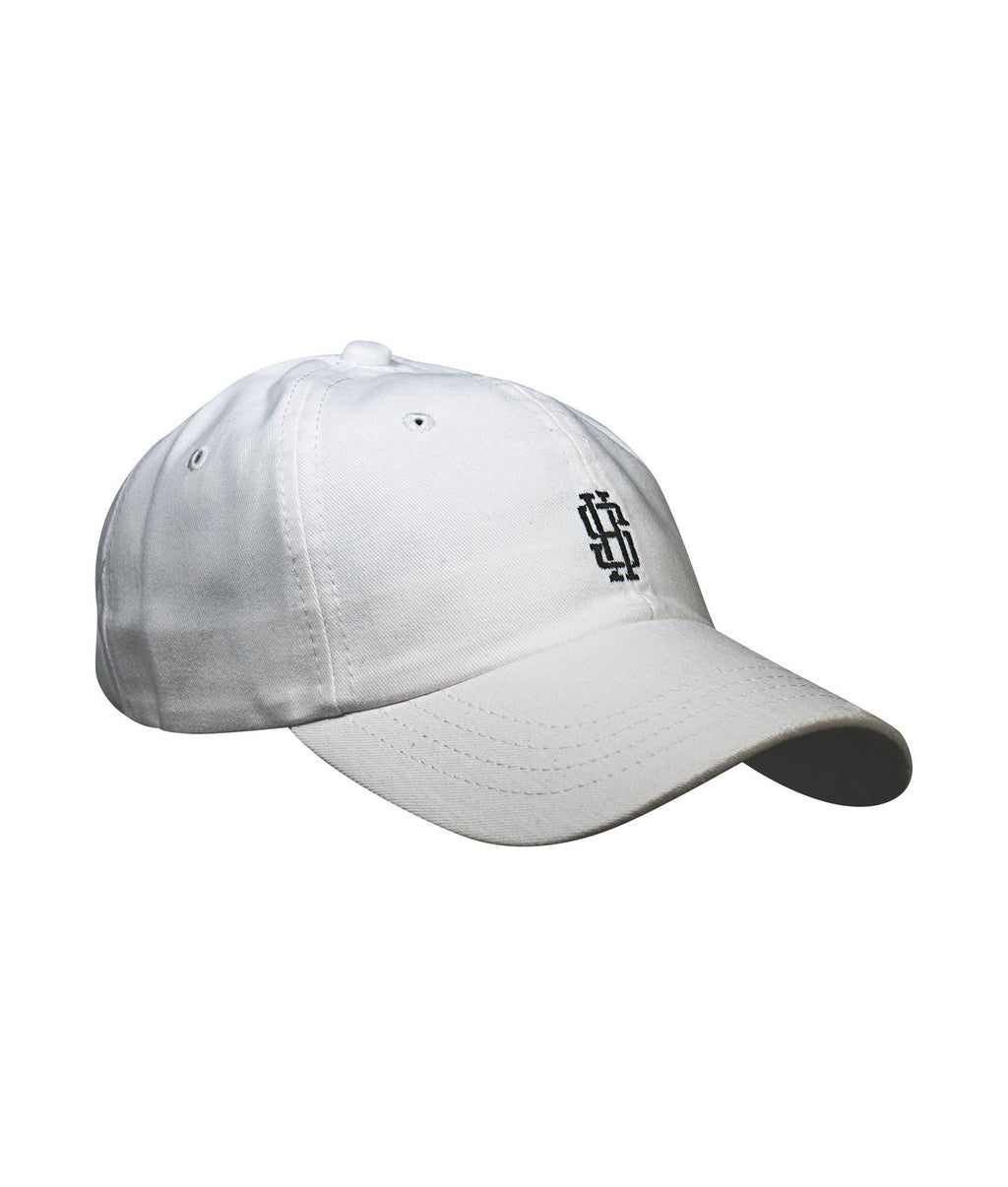 Monogram Dad Hat (White)