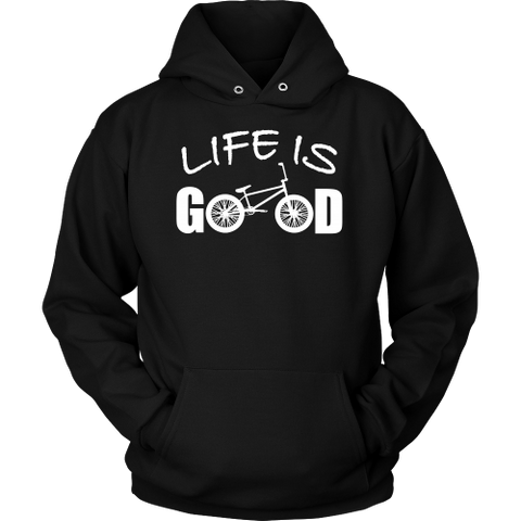 LIFE IS GOOD BMX HOODIE SWEATER
