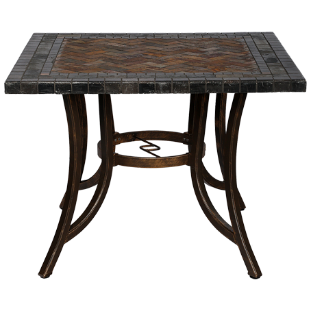 COS1- Chinese Outdoor Stone Table Square