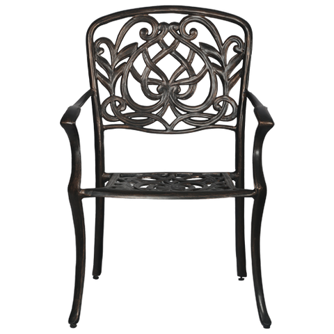 COCh1 -Chinese Cast Aluminium Chair