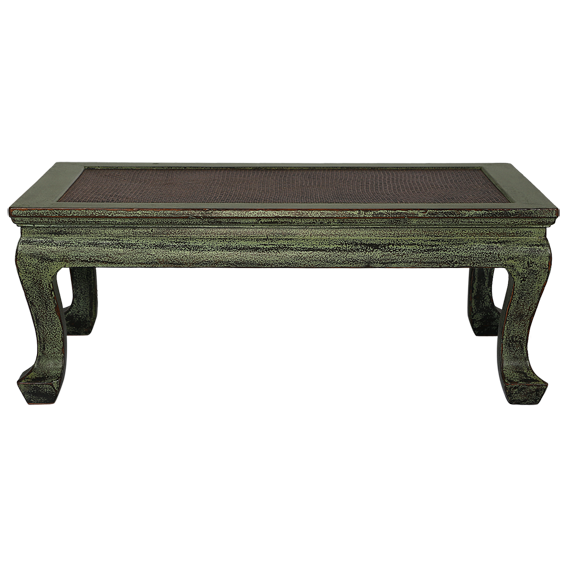 Terrific Kktg1 Korean Green Distressed Coffee Table Frangipani Pdpeps Interior Chair Design Pdpepsorg