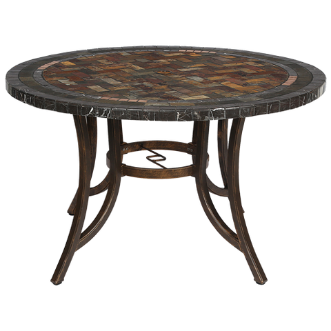 COR1 - Chinese Outdoor Stone Table -Round