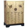 CLShG1 - Chinese Lacquer Gold Cabinet