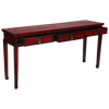KMCR1- Korean Red Antique Console