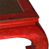 KKTR1 Korean Red Distressed Coffee table