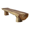 IATB Wooden Log Bench