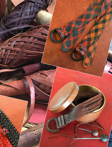Leather Plaiting Workshop :: 14 (or 15 or 16) March 2020 (1 day) $250