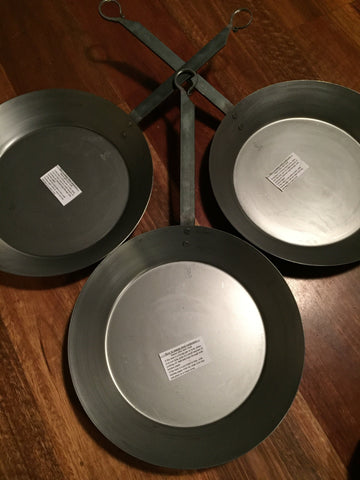 SOHO Foundry :: Solid Steel Fry Pan - made by the Bilney brothers in Ballarat