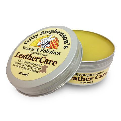 Gilly Stephenson's Leather care
