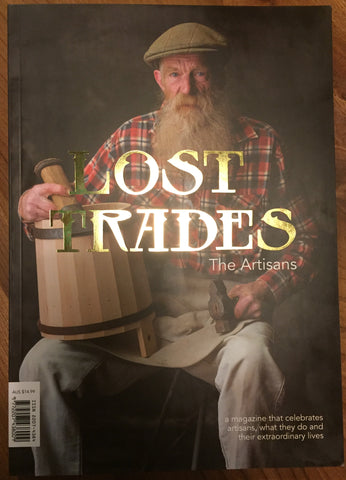 LOST TRADES - The Artisans - Magazine ($15.00 - FREE delivery in Australia)