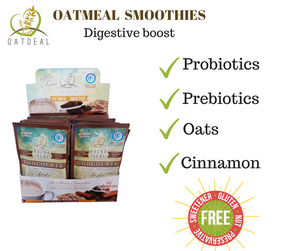 24 units Oatmeal Smoothie  (25g) FREE SHIPPING in Canada.  Select Flavour